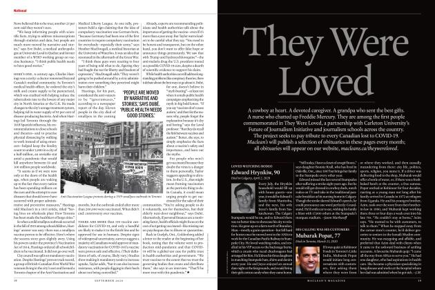 Article Preview: They Were Loved, SEPTEMBER 2020 | Maclean's