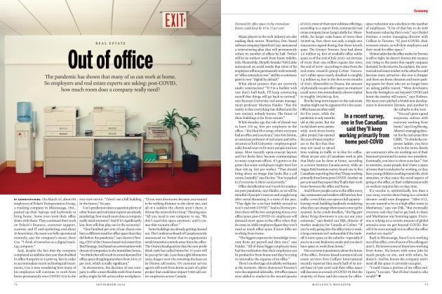 Article Preview: Out of office, SEPTEMBER 2020 | Maclean's
