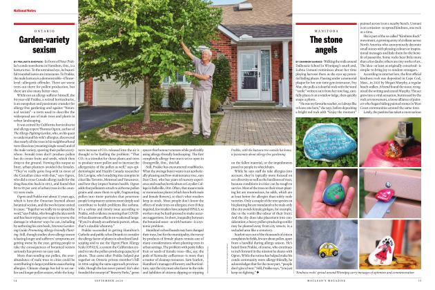 Article Preview: Garden-variety sexism, SEPTEMBER 2020 | Maclean's