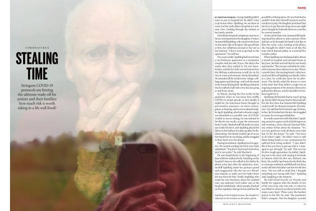 Article Preview: STEALING TIME, NOVEMBER 2020 | Maclean's