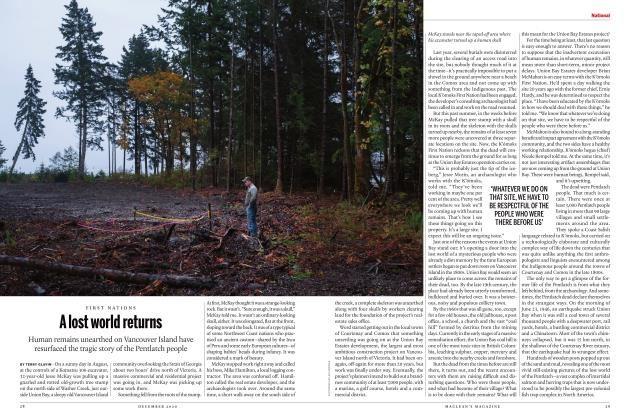 Article Preview: A lost world returns, DECEMBER 2020 | Maclean's