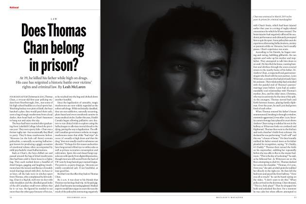 Article Preview: Does Thomas Chan belong in prison?, DECEMBER 2020 | Maclean's