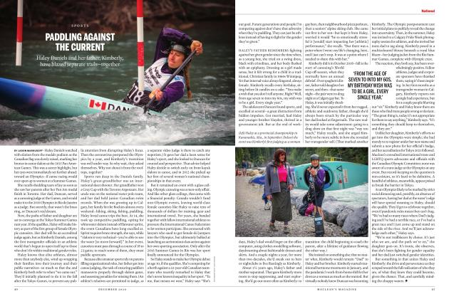 Article Preview: PADDLING AGAINST THE CURRENT, DECEMBER 2020 | Maclean's