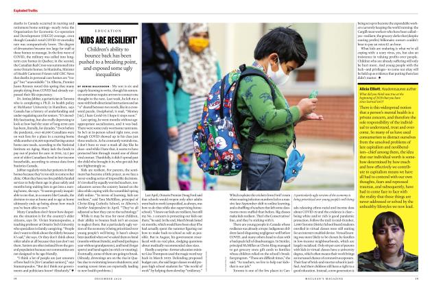 Article Preview: 'KIDS ARE RESILIENT', DECEMBER 2020 | Maclean's