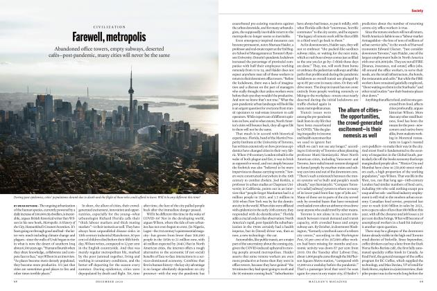 Article Preview: Farewell, metropolis, DECEMBER 2020 | Maclean's