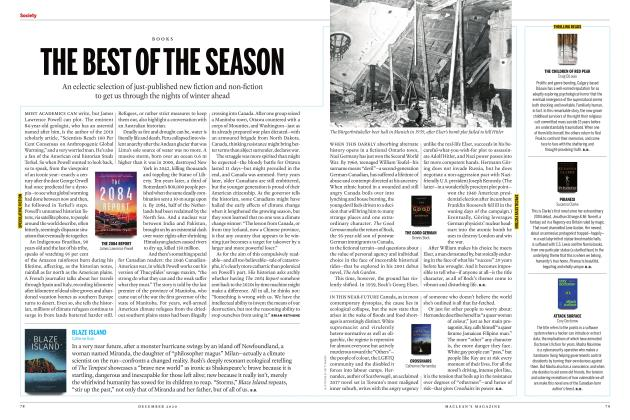 Article Preview: THE BEST OF THE SEASON, DECEMBER 2020 | Maclean's