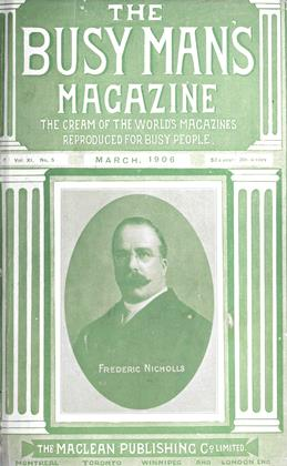 Cover for the March 1 1906 issue