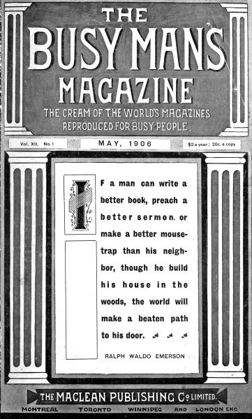 Issue: - May 1906 | Maclean's