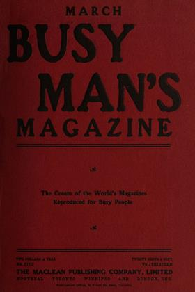 Cover for the March 1 1907 issue