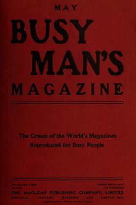 Cover for the May 1 1907 issue