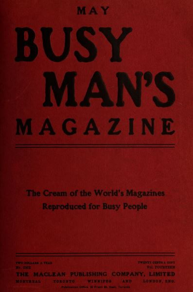 Issue: - May 1907 | Maclean's