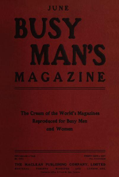 Issue: - June 1907 | Maclean's