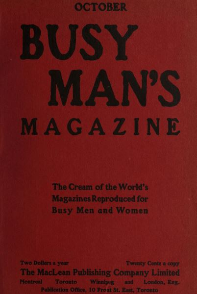 Issue: - October 1907 | Maclean's