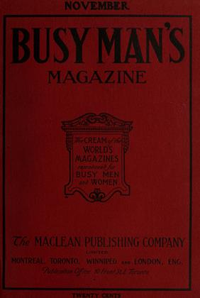 Cover for the November 1 1907 issue