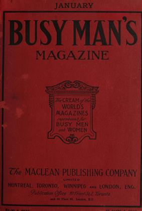 Cover for the January 1 1908 issue