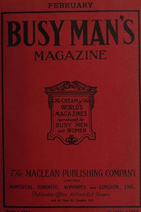 Cover for the February 1 1908 issue