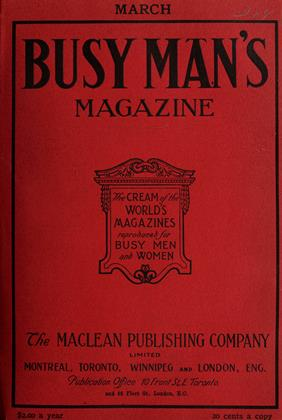 Cover for the March 1 1908 issue