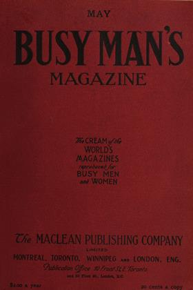 Cover for the May 1 1908 issue