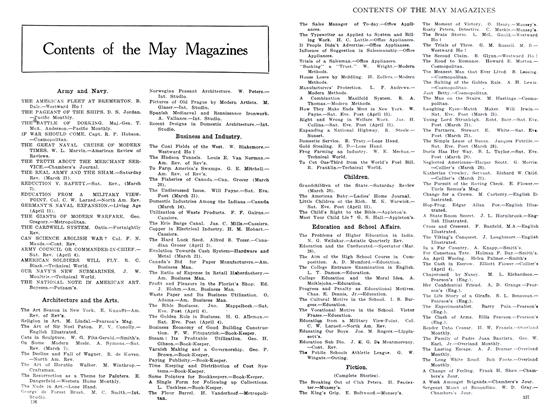 Contents of the May Magazines