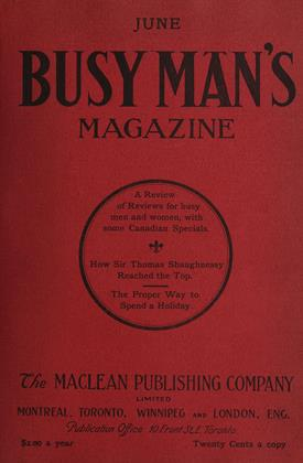 Cover for the June 1 1908 issue