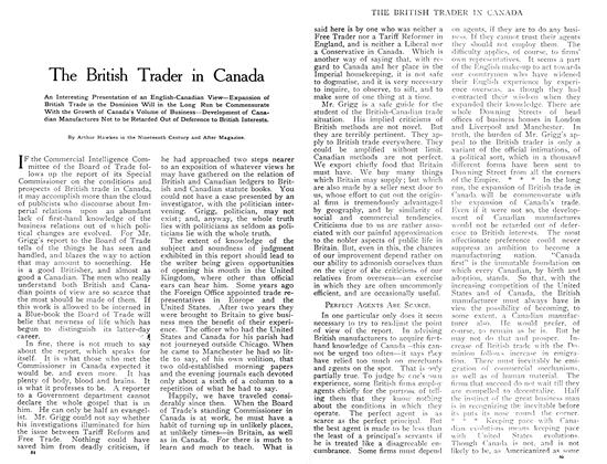 The British Trader in Canada