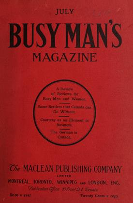 Cover for the July 1 1908 issue