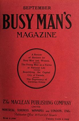 Cover for the September 1 1908 issue