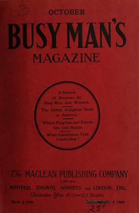 Cover for the October 1 1908 issue