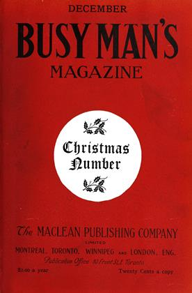Cover for the December 1 1908 issue