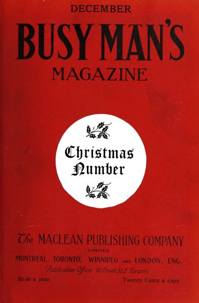 Issue: - December 1908 | Maclean's