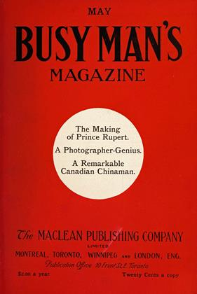 Cover for the May 1 1909 issue