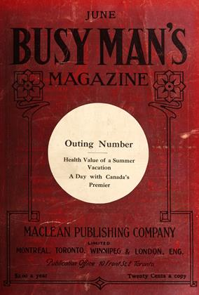Cover for the June 1 1909 issue