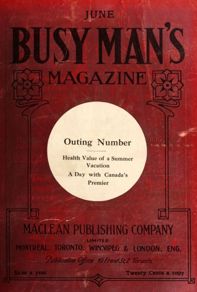 Issue: - June 1909 | Maclean's