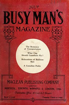 Cover for the July 1 1909 issue