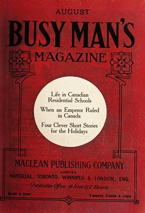 Cover for the August 1 1909 issue