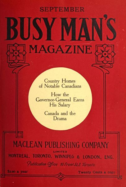 Issue: - September 1909 | Maclean's
