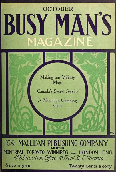 Issue: - October 1909 | Maclean's
