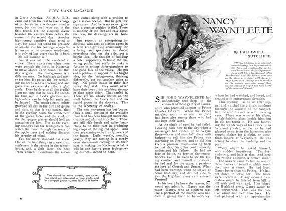 NANCY WAYNFLEETE