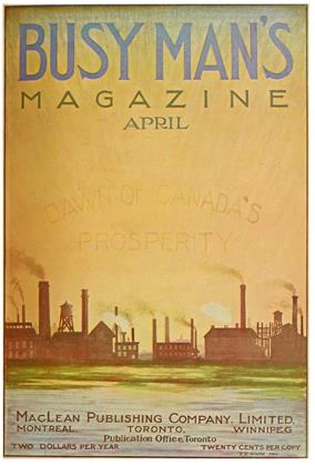 Cover for the April 1 1910 issue