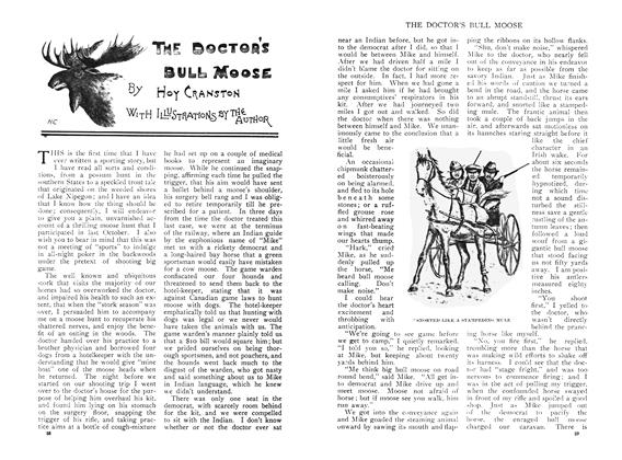 THE DOCTOR'S BULL MOOSE