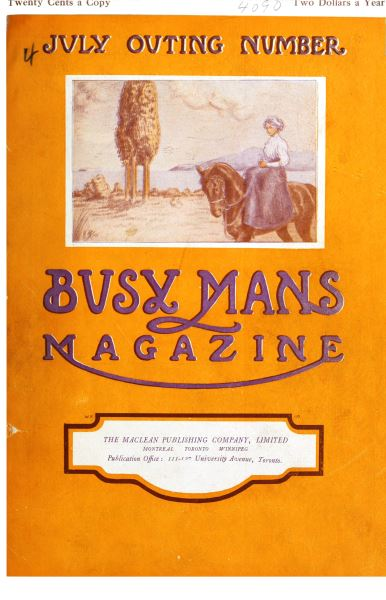 Issue: - July 1910 | Maclean's