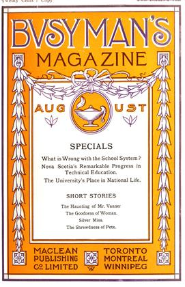 Cover for the August 1 1910 issue