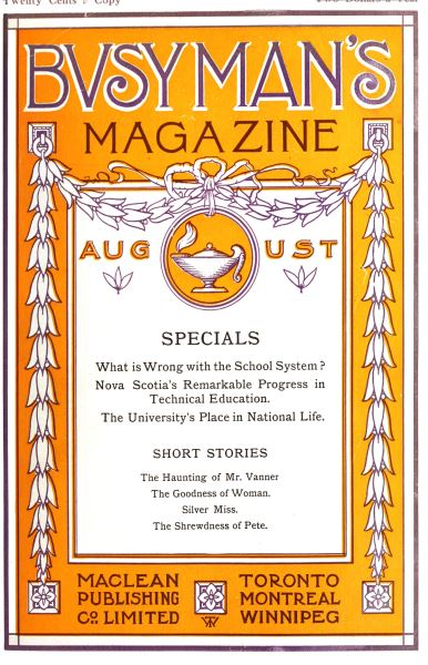 Issue: - August 1910 | Maclean's