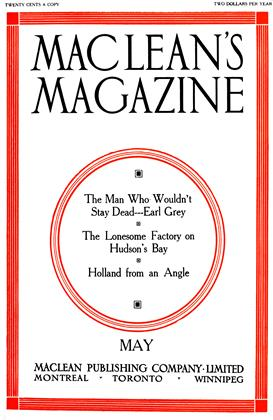 Cover for the May 1 1911 issue