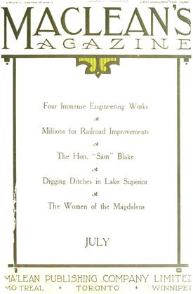 JUIY 1911 | Maclean's