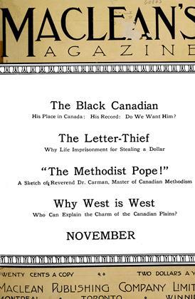 November 1911 | Maclean's