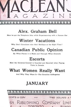 Cover for the January 1 1912 issue