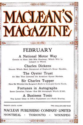 FEBRUARY 1912 | Maclean's