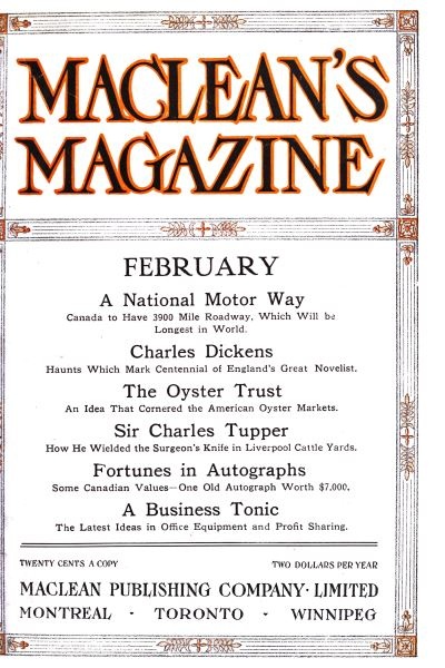 Issue: - February 1912 | Maclean's