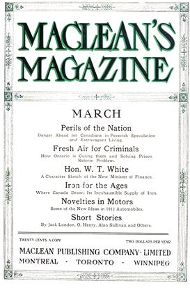 Cover for the March 1 1912 issue